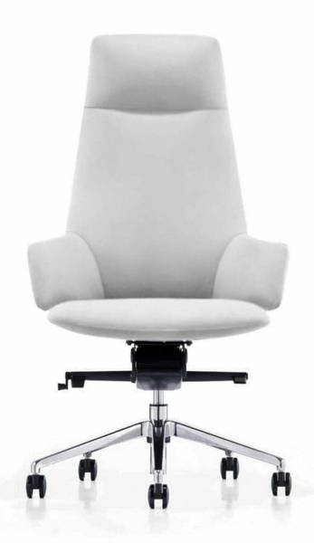 Modrest Gates White Leatherette Office Chair by VIG Furniture