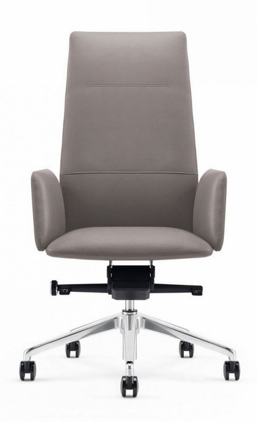 Modrest Tricia Grey Leatherette Office Chair by VIG Furniture