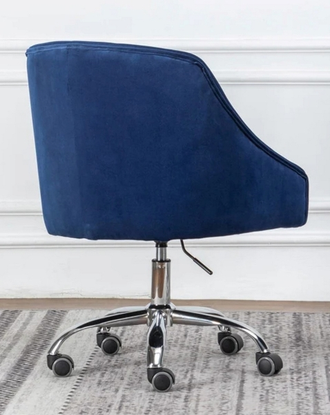 Phile Blue/Silver Office Chair by Best Master Furniture