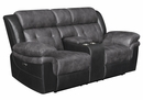 Saybrook 3-Pc Charcoal Power Recliner Sofa Set (Oversized) by Coaster