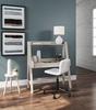 Signature Design Blariden Natural Wood Desk with Hutch by Ashley