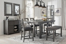 Signature Design Myshanna Extendable Counter Height Table by Ashley