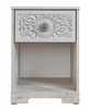 Signature Design Paxberry Whitewash Wood 1-Drawer Nightstand by Ashley