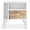Signature Design Piperton Two-Tone Wood 1-Drawer Nightstand by Ashley