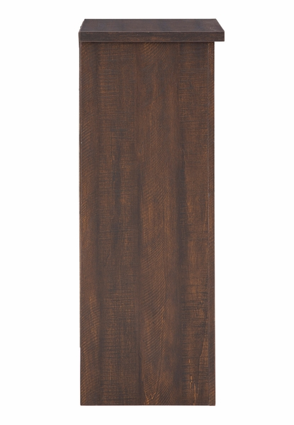 Signature Design Turnley Brown Wood Wine Cabinet by Ashley