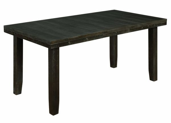 Sitora Rustic Dark Oak Counter Height Table by Best Quality Furniture