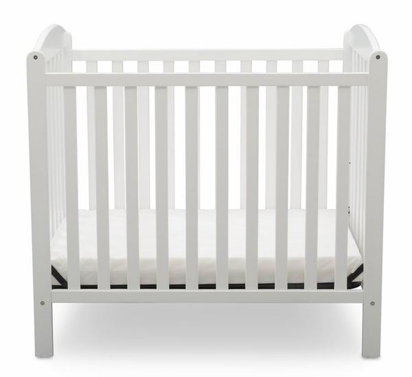 Sprout Bianca White Wood Convertible Crib by Delta Children