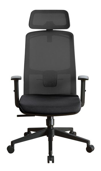 Umika Black Fabric Office Chair by Acme