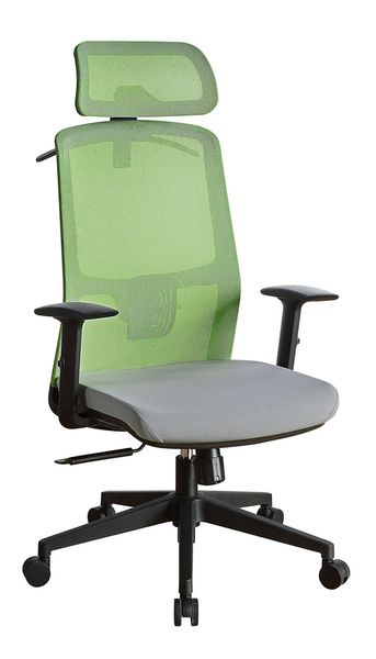 Umika Green & Gray Fabric Office Chair by Acme