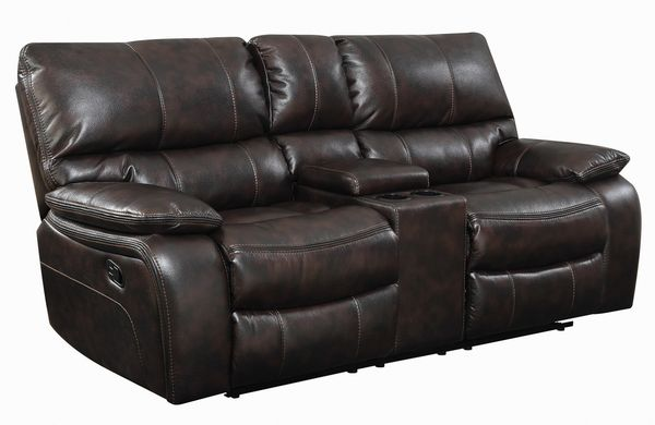 Willemse 2-Pc Dark Brown Manual Recliner Sofa Set by Coaster