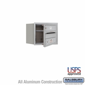Front Loading Horizontal Mailboxes 1 to 2 Doors
