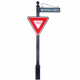 Traffic and Street Sign Package Estate Series - Yield Sign