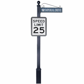 Traffic and Street Sign Package Estate Series - Rectangle Sign