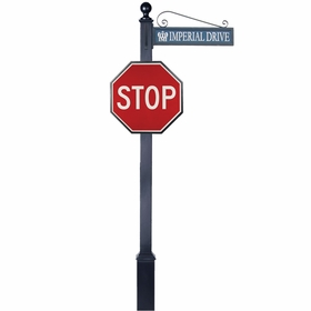 Traffic and Street Sign Package Estate Series - Stop Sign