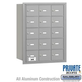 4B Mailboxes 15 Doors - Rear Loading - Private Use