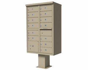1565 Series USPS High Security CBU Commercial Mailbox - 13 Doors
