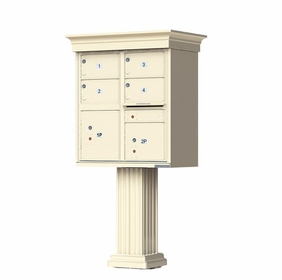 4 Door Classic Decorative CBU Mailboxes