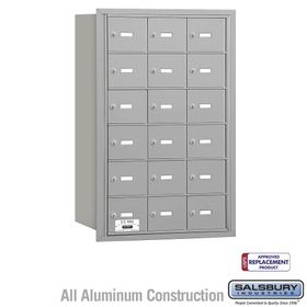 Salsbury 3618ARU 4B Mailboxes 18 Tenant Doors Rear Loading - USPS Access