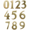 """2"""" Brass Numbers (Adhesive Back)"""