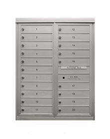 11-Door High Front Loading Anodized (43 - 3/4 in. High)