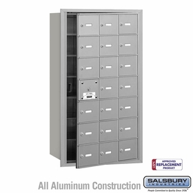 4B Mailboxes - 20 Tenant Doors - Front Loading