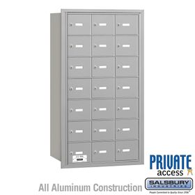 4B Mailboxes 21 Doors - Rear Loading - Private Use