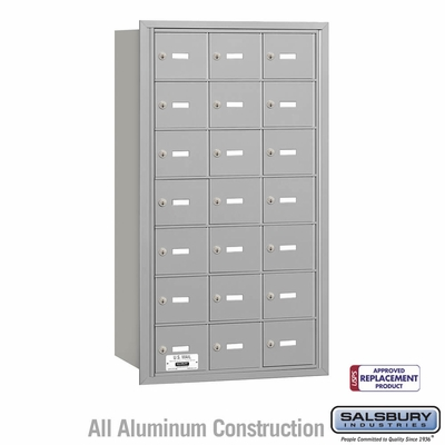 Salsbury 3621ARU 4B Mailboxes 21 Tenant Doors Rear Loading - USPS Access