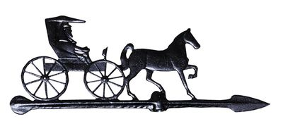 "Whitehall 24"" Accent Directions COUNTRY DOCTOR Weathervane in Black"