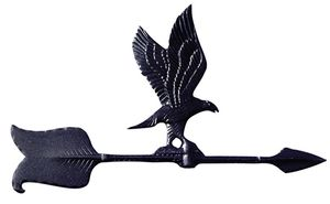"Whitehall 24"" Accent Directions EAGLE Weathervane in Black"