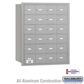 Salsbury 3624ARU 4B Mailboxes 24 Tenant Doors Rear Loading - USPS Access