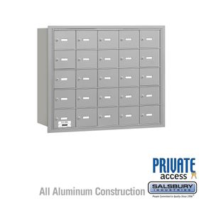 4B Mailboxes 25 Doors - Rear Loading - Private Use