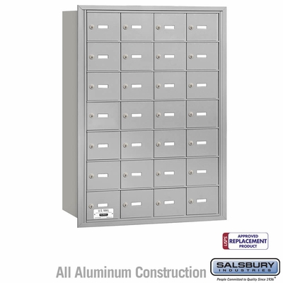 Salsbury 3628ARU 4B Mailboxes 28 Tenant Doors Rear Loading - USPS Access
