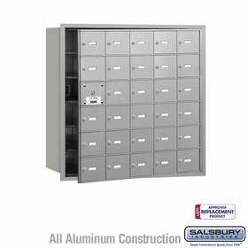 4B Mailboxes - 29 Tenant Doors - Front Loading