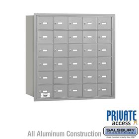 4B Mailboxes 30 Doors - Rear Loading - Private Use