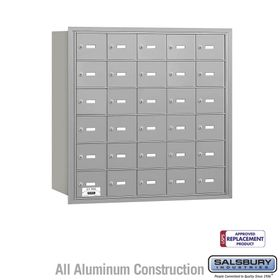Salsbury 3630ARU 4B Mailboxes 30 Tenant Doors Rear Loading - USPS Access
