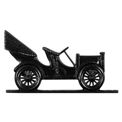 "Whitehall 30"" Traditional Directions ANTIQUE AUTO Weathervane in Black for Roof or Garden"
