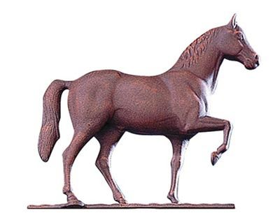"""Whitehall 30"""" Traditional Directions Full-Bodied HORSE Weathervane"""