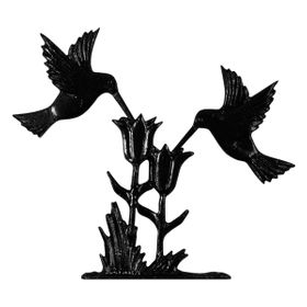 "Whitehall 30"" Traditional Directions HUMMINGBIRD Weathervane in Black for Roof or Garden"