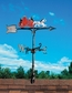 "Whitehall 30"" Traditional Directions Life-Like MultiColor FIRE WAGON Weathervane for Roof or Garden"