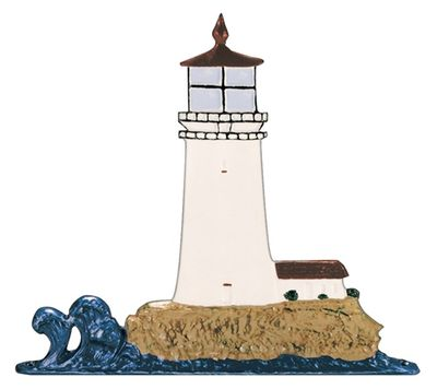 """Whitehall 30"""" Traditional Directions Life-Like MultiColor Lighthouse Weathervane for Roof or Garden"""