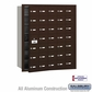 Salsbury 3635ZFU 4B Mailboxes 34 Tenant Doors Front Loading - USPS Access