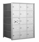 American Eagle 4B Mailbox with 14 Tenant Doors and 1 Master Door