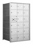 American Eagle 4B Mailbox with 17 Tenant Doors and 1 Master Door