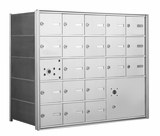 American Eagle 4B Mailbox with 20 doors and 1 parcel locker