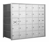 American Eagle 4B Mailbox with 24 Tenant Doors and 1 Master Door