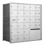 American Eagle 4B Mailbox with 25 doors and 1 outgoing mail collection