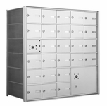 American Eagle 4B Mailbox with 25 doors and 1 parcel locker