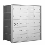 American Eagle 4B Mailbox with 19 Tenant Doors and 1 Master Door