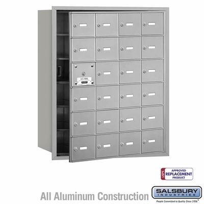 Salsbury 3624AFU 4B Mailboxes 23 Tenant Doors Front Loading - USPS Access