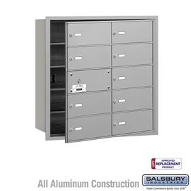 4B Mailboxes - 9 Tenant Doors - Front Loading